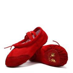 Vrouwen Zeildoek Ballet Dansschoenen (053123203)