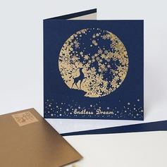 современный стиль/цветочный Стиль Боковой складкой поздравительные открытки/Спасибо карты/Поздравительные открытки (114205170)