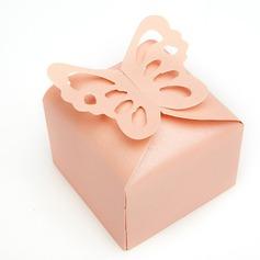Encantador Borboleta Cubi Papel cartão Caixas do Favor (conjunto de 12) (050146427)