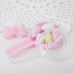 прекрасный/Круглый Другое пластиковые Горшки и банки для конфет (набор из 12) (050168343)