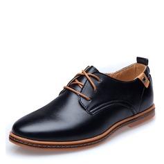 Hommes Similicuir Dentelle Chaussures habillées Travail Chaussures Oxford pour hommes (259172251)