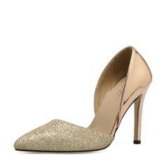 Vrouwen Kunstleer Stiletto Heel Pumps Closed Toe schoenen (085150602)