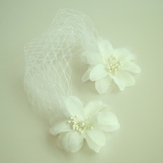 Дамы Красивая чистая пряжа/шелковые цветы лоб ювелирные изделия (042143698)
