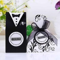 Noiva & Noivo Caixas do Favor com Fitas (conjunto de 12) (050024709)