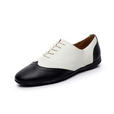 Мужская Натуральня кожа Сандалии Танцевальные кроссовки Практика Обувь для танцев (053080772)