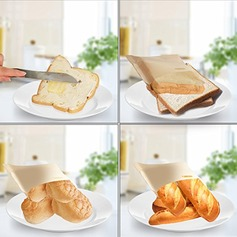 Modern Classic Treats Non Stick Reusable Toaster Bags for Sandwich and Grilling (Set of 2) Non-personalized Gifts (129140480)