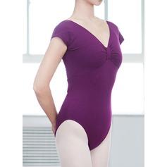 Женщины Одежда для танцев хлопок Балет Практика Балетное трико (115121762)