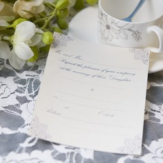 классический стиль Плоская карта Invitation Cards (набор из 50) (114063993)