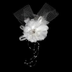 Moda Cristal Cetim Rede Flores (042015998)