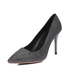 Frauen Kunstleder Stöckel Absatz Absatzschuhe Geschlossene Zehe mit Andere Schuhe (085146827)