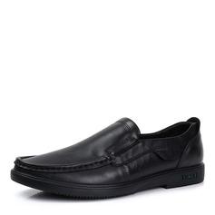 Мужская натуральня кожа U-Tip вскользь Men's Loafers (260187151)