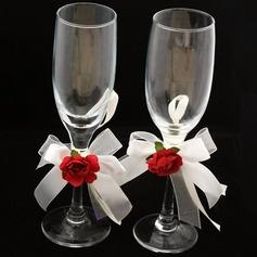 Элегантный Бессвинцовое стекло Поджаривание флейты (набор из 2) (126032338)