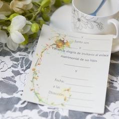 цветочный Стиль Плоская карта Invitation Cards (набор из 50) (114064003)