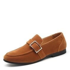 Мужская замша Лошадь Мокасины вскользь Men's Loafers (260187354)