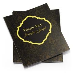 Персонализированные цветочный Стиль Спасибо карты (набор из 50) (114054962)
