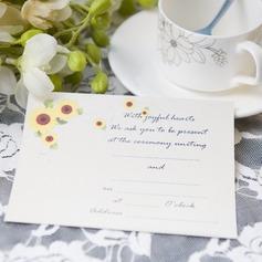цветочный Стиль Плоская карта Invitation Cards (набор из 50) (114063992)