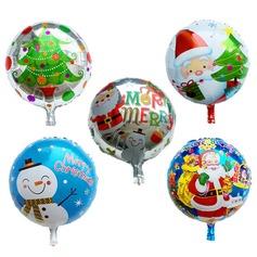 воздушный шар Симпатичный Алюминиевая фольга (набор из 5) Круглый Подарки (129148779)