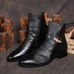 Мужская натуральня кожа Chukka вскользь Men's Boots (261171665)