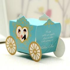De & bruidegom bruid/Vervoer Bedank Doosjes (Set van 12) (050028068)