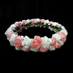 прекрасный Бумага Девушки цветка Головной убор (042025220)