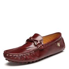 Мужская натуральня кожа U-Tip вскользь Men's Loafers (260172131)