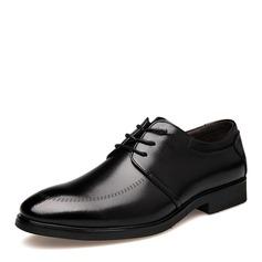 Мужская кожа Cap Toes шнуровка Платья Men's Oxfords (259173585)