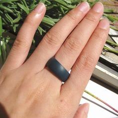 Mode Silikon Uniseks Fashion Ringen (Verkocht in één stuk) (137140053)