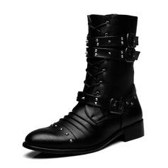 Мужская натуральня кожа Chukka вскользь Men's Boots (261171661)
