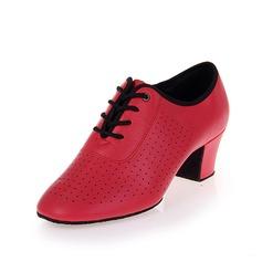 Женщины кожа На каблуках На каблуках Практика Обувь для танцев (053058452)