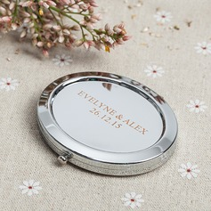 Personalized Stainless Steel Compact Mirror (Set of 4) (118066305)