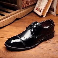 Мужская кожа Cap Toes шнуровка Платья Men's Oxfords (259173589)