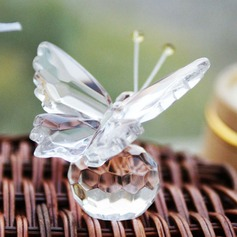 Sommerfugl Crystal Keepsake med Bånd (051024188)
