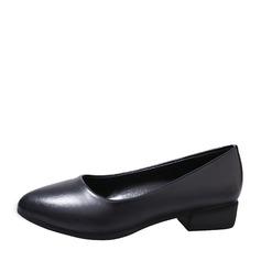 Женщины PU Плоский каблук На плокой подошве Закрытый мыс с Другие обувь (086152986)