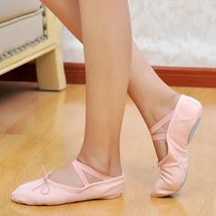 Crianças Lona Sem salto Balé Dança do ventre Sapatos de dança (053048832)