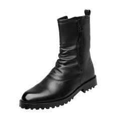 Мужская натуральня кожа Chukka вскользь Men's Boots (261172191)
