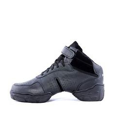 Мужская Натуральня кожа Танцевальные кроссовки Танцевальные кроссовки Обувь для танцев (053018539)