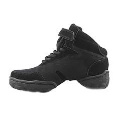 Мужская Холст Танцевальные кроссовки Танцевальные кроссовки Обувь для танцев (053013127)