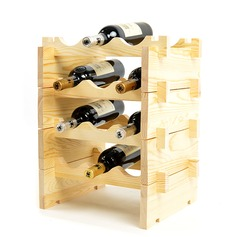 Klassiek Hout Flessenhouder / Wijn Rek (Verkocht in een verdieping) (052095644)