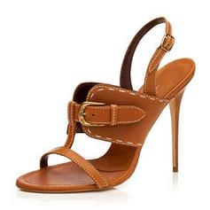 Женщины PU Высокий тонкий каблук Сандалии На каблуках Открытый мыс Босоножки Тапочки с пряжка обувь (087157094)