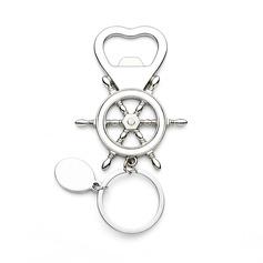 винтажном стиле/прекрасный в форме сердца Нержавеющая сталь Брелки/Открывалки для бутылок (набор из 4) (051202390)