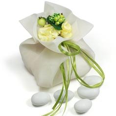 Mooie Bloemen Thema Bedank Tassen met Bloemen/Linten (Set van 12) (050046723)