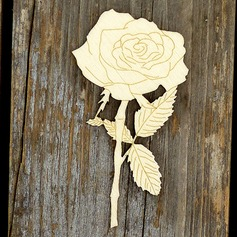 Creative Gifts Classic Rose Wooden (Set of 10) Non-personalized Gifts (129154550)