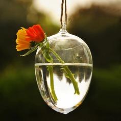 Vatten dropp formad Glas Vas (128048475)