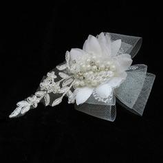 Гламурный жемчуг/кружева/Тюль ободки (042025410)