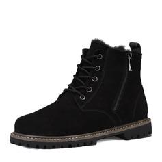 Menn Semsket Snø støvler Avslappet Boots til herre (261172594)