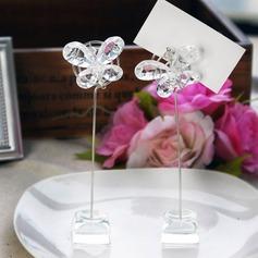 Borboleta Cristal Titulares do cartão do lugar (Conjunto de 2) (051024913)