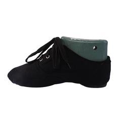Женщины Холст На плокой подошве Джаз Обувь для танцев (053076382)