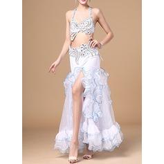 Женщины Одежда для танцев хлопок полиэстер шифон Танец живота Инвентарь (115086457)