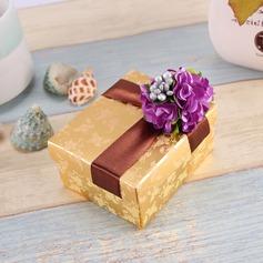 Цветочный дизайн Кубовидной Коробочки с Цветы (набор из 12) (050096016)