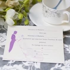 невеста и жених стиле Плоская карта Invitation Cards (набор из 50) (114063996)
